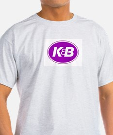 K&B Retro Ash Grey T-Shirt