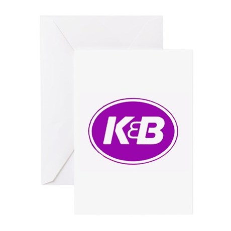 K&B Retro Greeting Cards (Pk of 10)