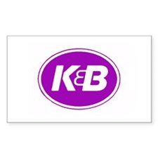 K&B Retro Rectangle Decal