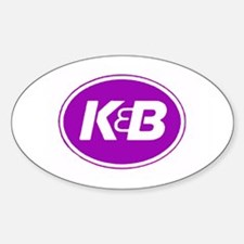 K&B Retro Oval Decal