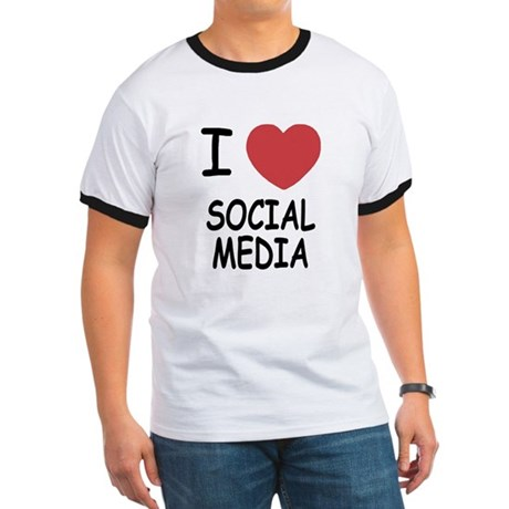 I heart social media Ringer T