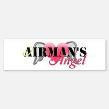 Airmans Angel Bumper Bumper Sticker