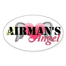 Airmans Angel Decal