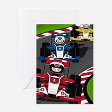 Racing Cars Card (Pk of 20)