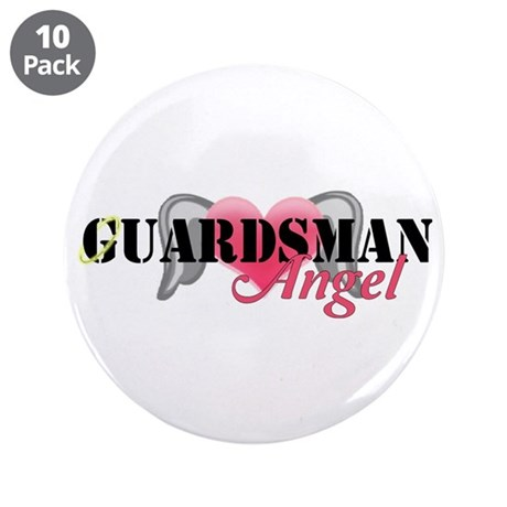 "Guardsmans Angel 3.5"" Button (10 pack)"