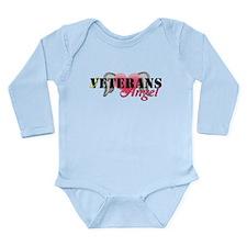 Veterans Angel Long Sleeve Infant Bodysuit