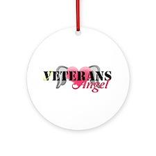 Veterans Angel Ornament (Round)