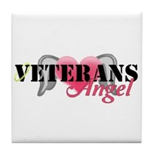 Veterans Angel Tile Coaster