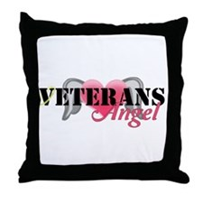 Veterans Angel Throw Pillow
