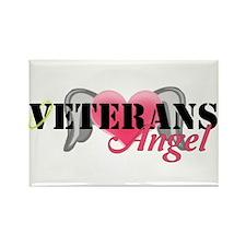 Veterans Angel Rectangle Magnet (10 pack)