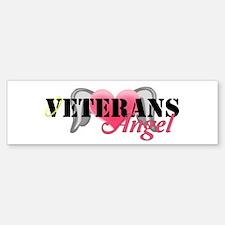 Veterans Angel Bumper Bumper Sticker