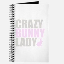 CRAZY BUNNY LADY Journal