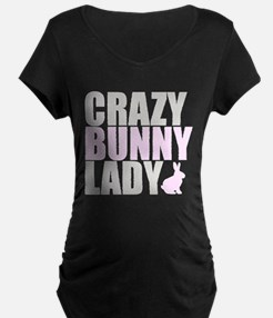 CRAZY BUNNY LADY T-Shirt
