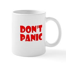 Don't Panic Hitchikers Small Mug