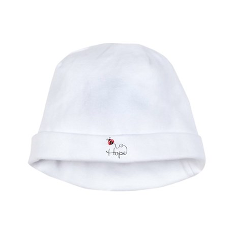 Ladybug Hope Infant Cap