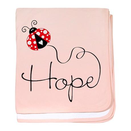 Ladybug Hope Infant Blanket