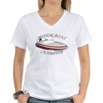 Motor Boat Women's V-Neck T-Shirt