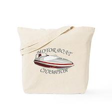 Motor Boat Tote Bag