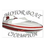 Motor Boat Postcards (Package of 8)