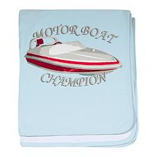 Motor Boat Infant Blanket