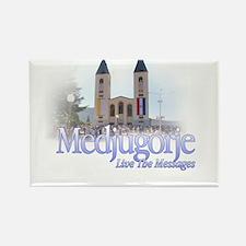 Medjugorje Rectangle Magnet