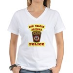 Oro Valley Police Women's V-Neck T-Shirt