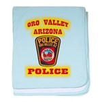 Oro Valley Police Infant Blanket