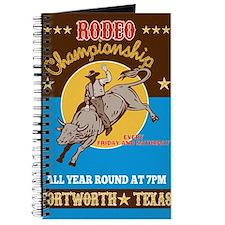 Rodeo Cowboy bull riding Journal