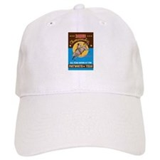 Rodeo Cowboy bull riding Baseball Cap