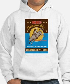 Rodeo Cowboy bull riding Hoodie