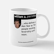 William A. Parrette Mug
