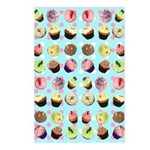 Polka Dot Cupcakes Postcards (Package of 8)