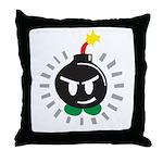 Mr. Bomb Throw Pillow