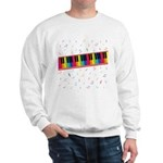Colorful Piano Sweatshirt