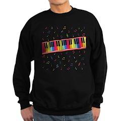 Colorful Piano Sweatshirt