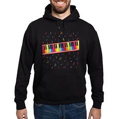 Colorful Piano Hoodie (dark)