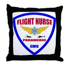 Cute Flight nurses Throw Pillow