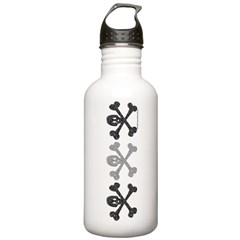 3Skulls&Crossbones Water Bottle
