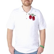 Gambling Snake Eyes Dice T-Shirt