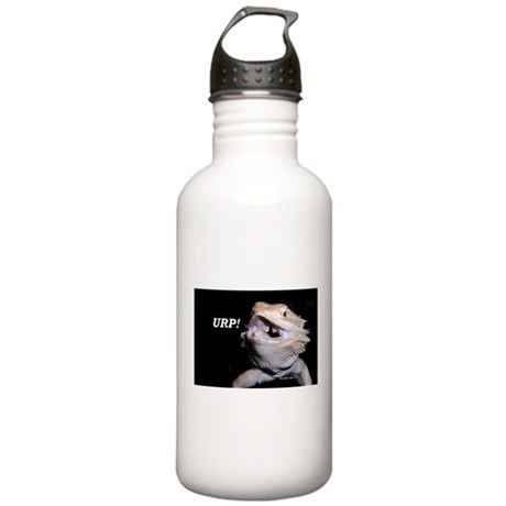 Beardie Burps! Stainless Water Bottle 1.0L
