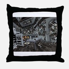 Zombie Invasion Throw Pillow