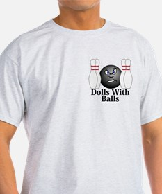 Dolls With Balls Logo 3 T-Shirt Design Front