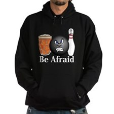 Be Afraid Logo 10 Hoodie Design Front Cente