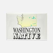 Washington native Rectangle Magnet