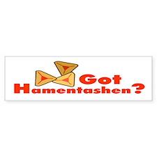 Got Hamentashen Bumper Bumper Sticker
