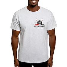 Pocket Rockets Logo 15 T-Shirt Design Front