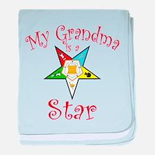 My Grandma is a Star Infant Blanket