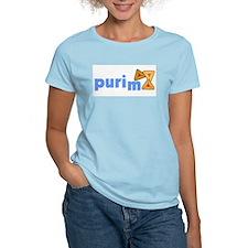 Purim Women's Pink T-Shirt