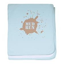 Mud Run - Brown Infant Blanket