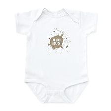 Mud Run - Brown Infant Bodysuit